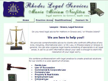 Lawyers, Website