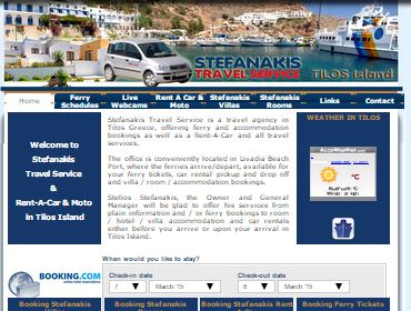 Stefanakis Travel Agency, Photography, Web, CMS, Application